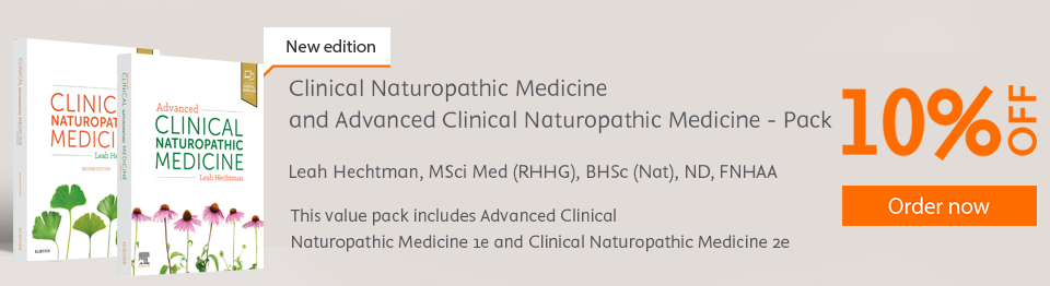 Skip to the beginning of the images gallery Clinical Naturopathic Medicine and Advanced Clinical Naturopathic Medicine - Pack