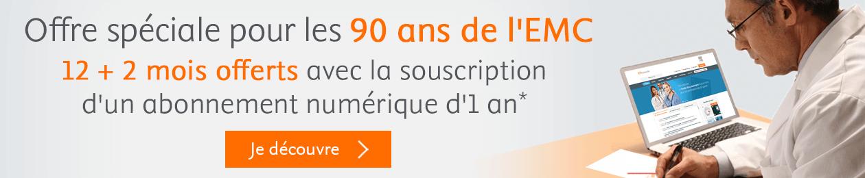 Offre spéciale pour les 90 ans de l'EMC