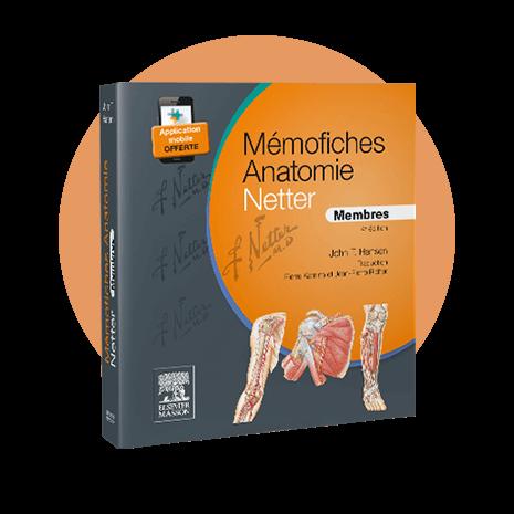 Couverture - Mémofiches Anatomie Netter - Membres