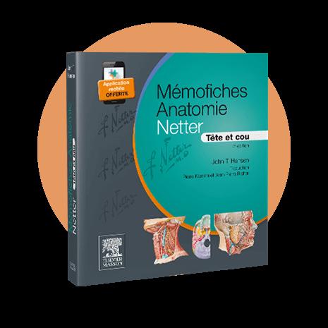 Couverture - Mémofiches Anatomie Netter - Tête et cou